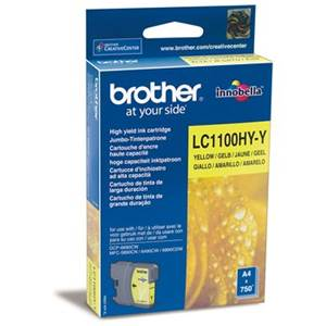 BROTHER LC-1100HYY - Cartouche Encre - jaune - 900 pages