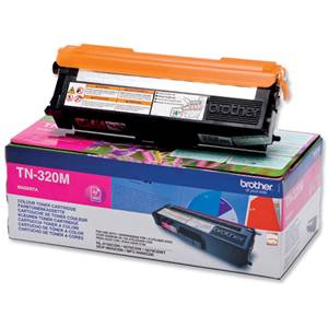 BROTHER TN-320M - Cartouche Toner - magenta - 1500 pages