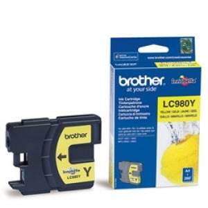 BROTHER LC-980YBP (LC980YBP) - Cartouche Encre Jaune