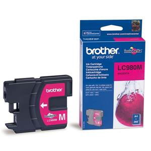 BROTHER LC-980M - Cartouche Encre - magenta - 260 pages