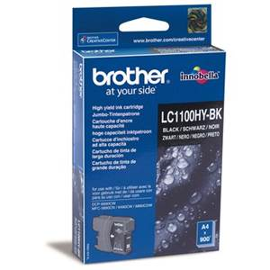 BROTHER LC-1100HYBK - Cartouche Encre - noire - 900 pages