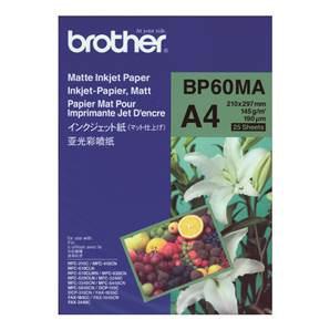 BROTHER BP60MA - Papier Photo Mat - A4