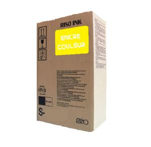 RISO S-7207E - 2 x Cartouches Encre - Jaune - 20000 pages