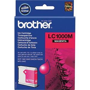 BROTHER LC-1000M (LC1000M) - Cartouche Encre Magenta