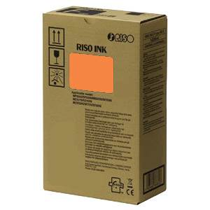 RISO S-8184E - 2 x Cartouches Encre Orange - 20000 pages
