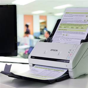 EPSON WorkForce DS-530 (B11B226401) - Scanner de bureau