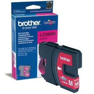 BROTHER LC-980MBP - Cartouche Encre - magenta - 260 pages