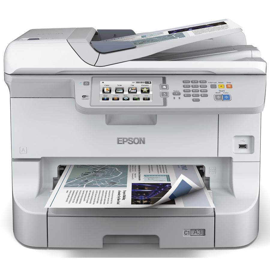 epson workforce pro wf 8510dwf c11cd44301 multifonction a3 couleur. Black Bedroom Furniture Sets. Home Design Ideas