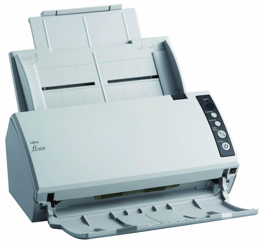 fujitsu fi 6110 scanner de bureau a4. Black Bedroom Furniture Sets. Home Design Ideas