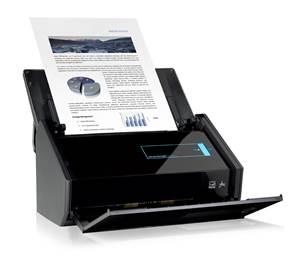 fujitsu scansnap ix500 scanner de bureau a4. Black Bedroom Furniture Sets. Home Design Ideas