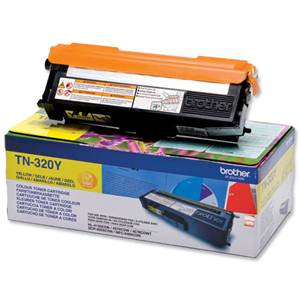 BROTHER TN-320Y - Cartouche Toner - jaune - 1500 pages