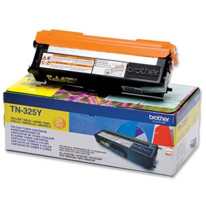 BROTHER TN-325Y - Cartouche Toner - jaune - 3500 pages