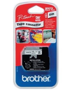 BROTHER MK-231SBZ - Rubans - Non Plastifiée - 4m x 12mm