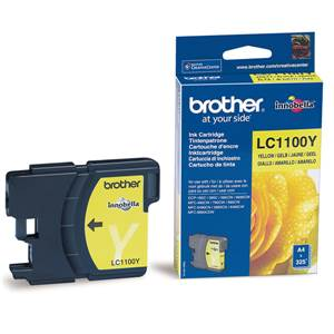 BROTHER LC-1100Y - Cartouche Encre - jaune - 325 pages