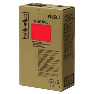 RISO S-7205E - 2 x Cartouches Encre Rouge - 20000 pages