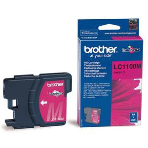 BROTHER LC-1100M - Cartouche Encre - magenta - 325 pages