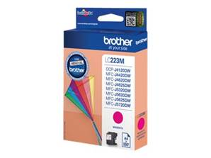 BROTHER LC-223M (LC223M) - Cartouche Encre Magenta