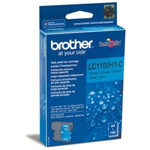 BROTHER LC-1100HYC - Cartouche Encre - cyan - 900 pages