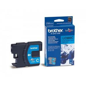 BROTHER LC-980C (LC980C) - Cartouche Encre Cyan