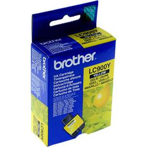 BROTHER LC-900Y - Cartouche Encre - Jaune - 400 pages
