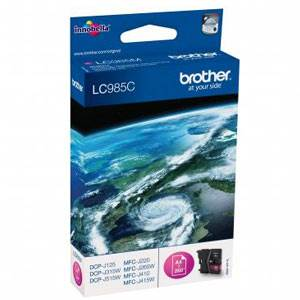 BROTHER LC-985C - Cartouche Encre - Cyan - 260 pages