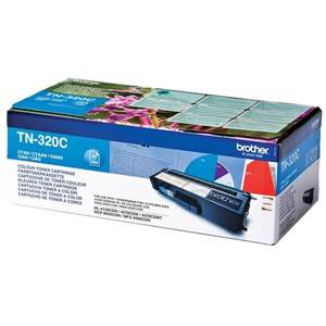 BROTHER TN-320C - Cartouche Toner - Cyan - 1500 pages