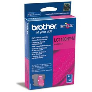 BROTHER LC-1100HYM - Cartouche Encre - magenta - 900 pages