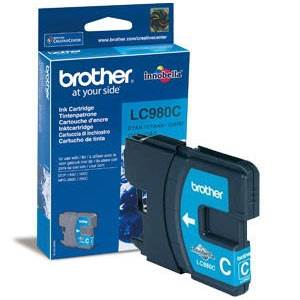 BROTHER LC-980CBP (LC980CBP) - Cartouche Encre Cyan
