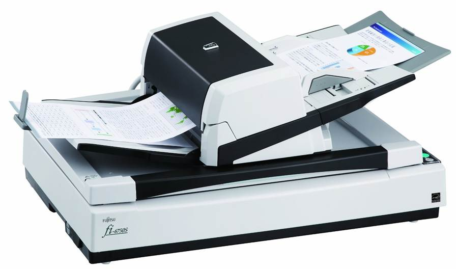 fujitsu fi 6750s scanner de bureau a3. Black Bedroom Furniture Sets. Home Design Ideas